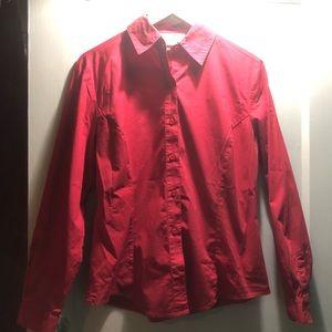 Tops - Button down long sleeve shirt